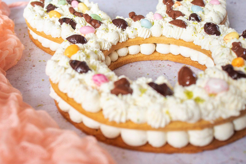 Recette Number cake lapin Pâques