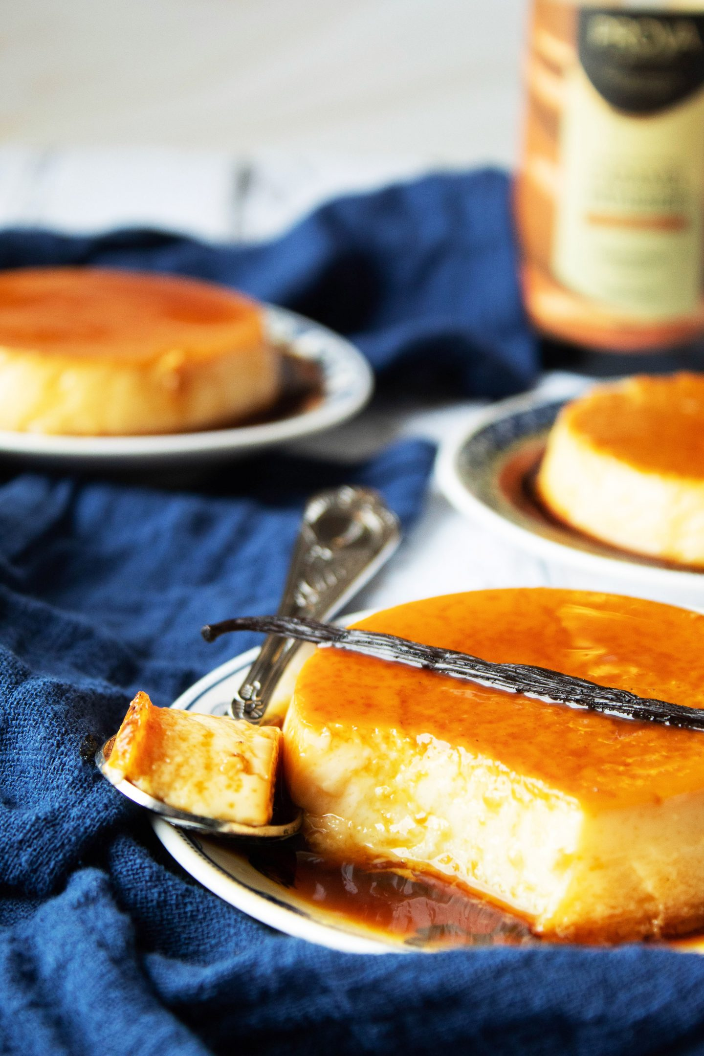 Recette Crème renversée au caramel