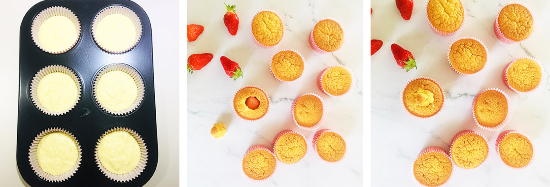 Recette Cupcake bouquet