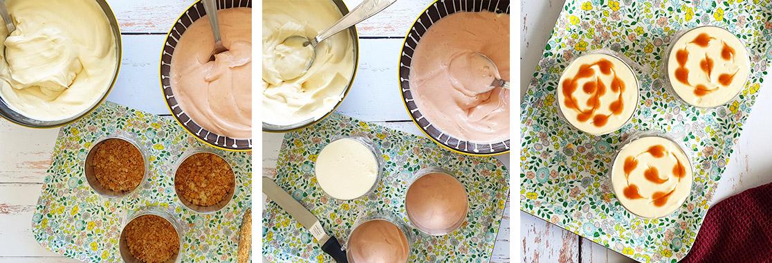 Recette Cheesecake aux fraises
