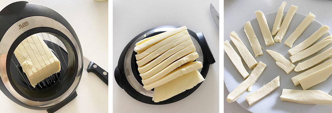 Recette Stick de mozzarella