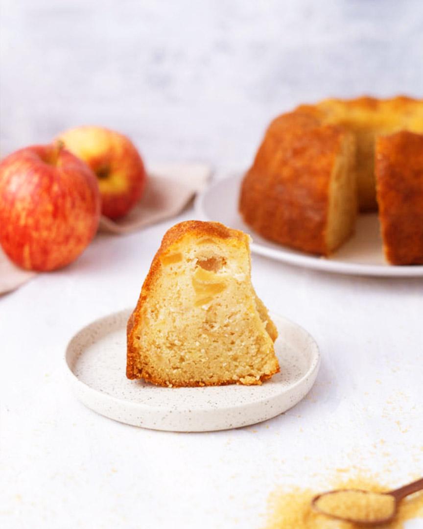 Recette Gâteau yaourt pomme