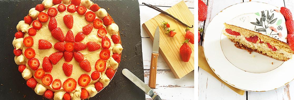 Recette Gâteau Fête des Mères