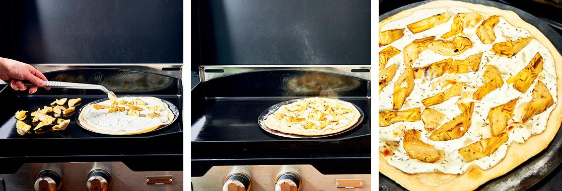 Recette Pizza véggie