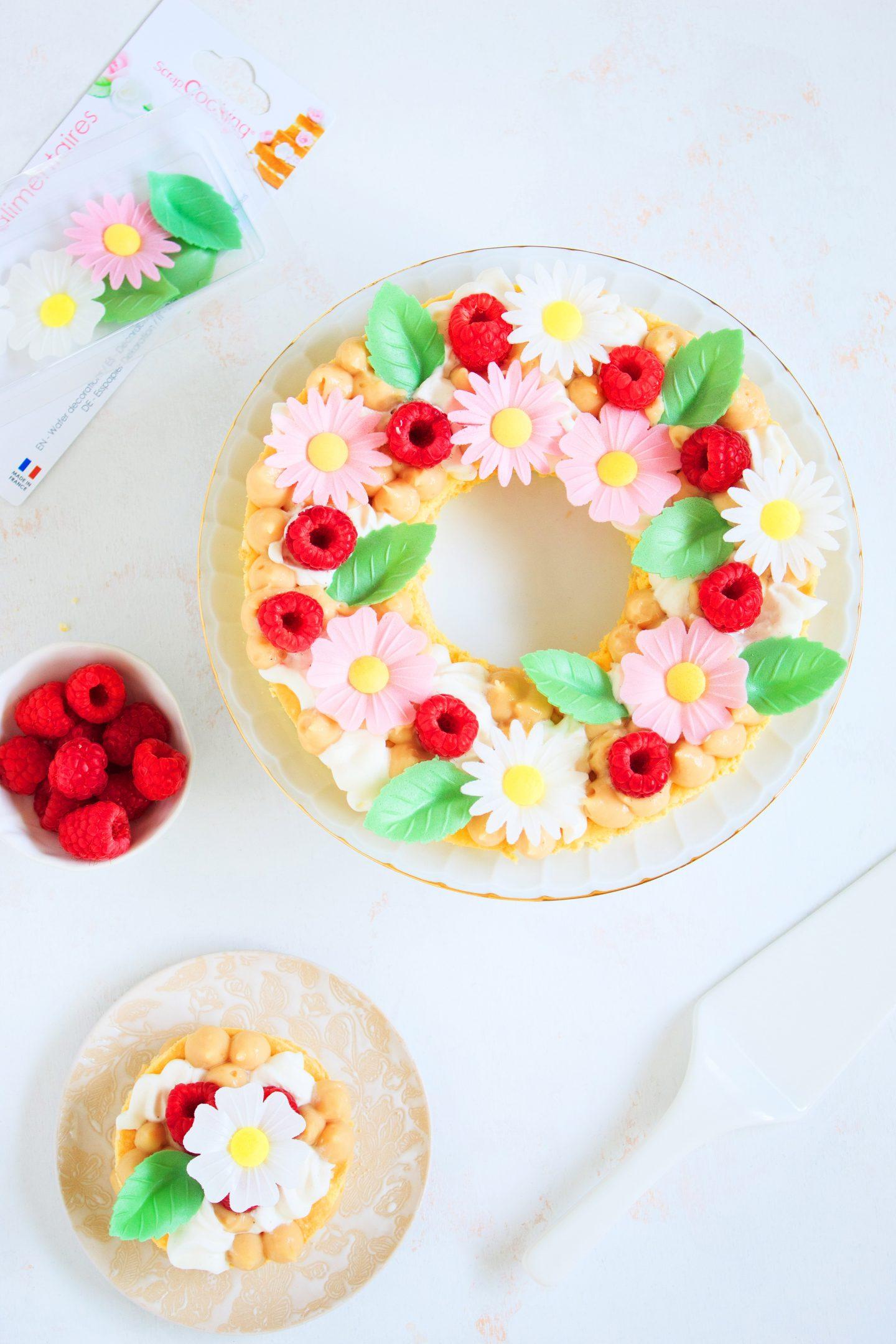 Recette Number cake fleur