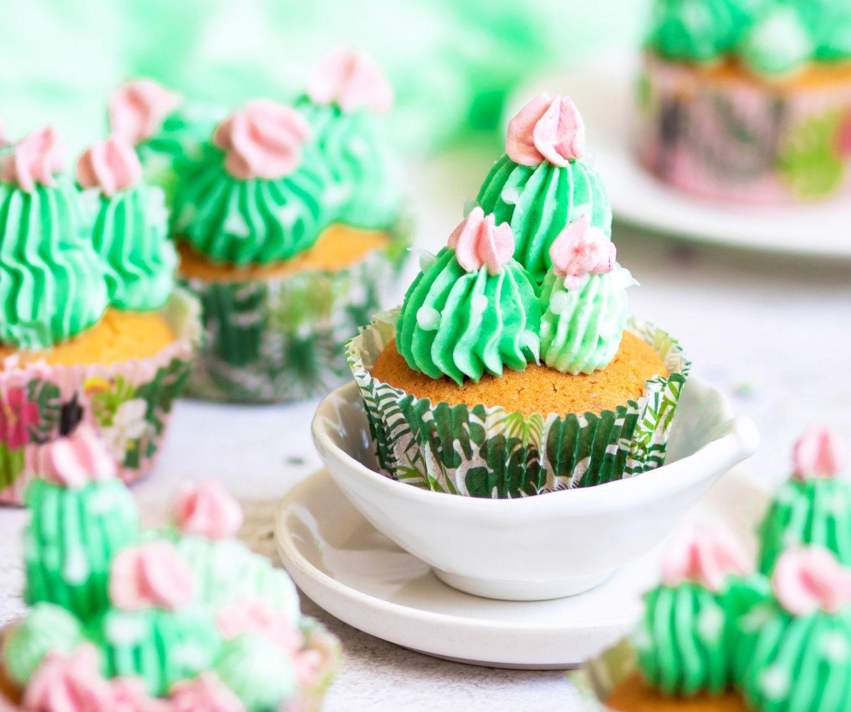 Recette Cupcakes cactus