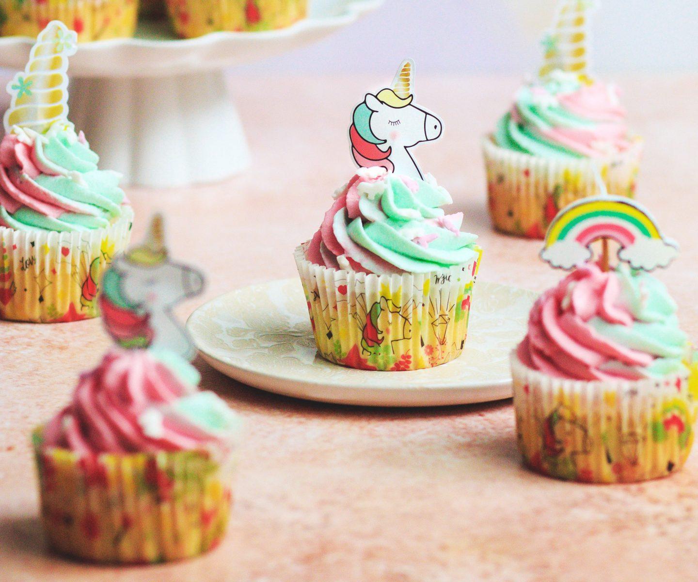 Recette Cupcakes licorne