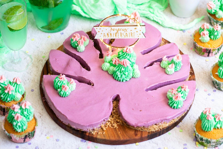 Recette Cheesecake tropical facile