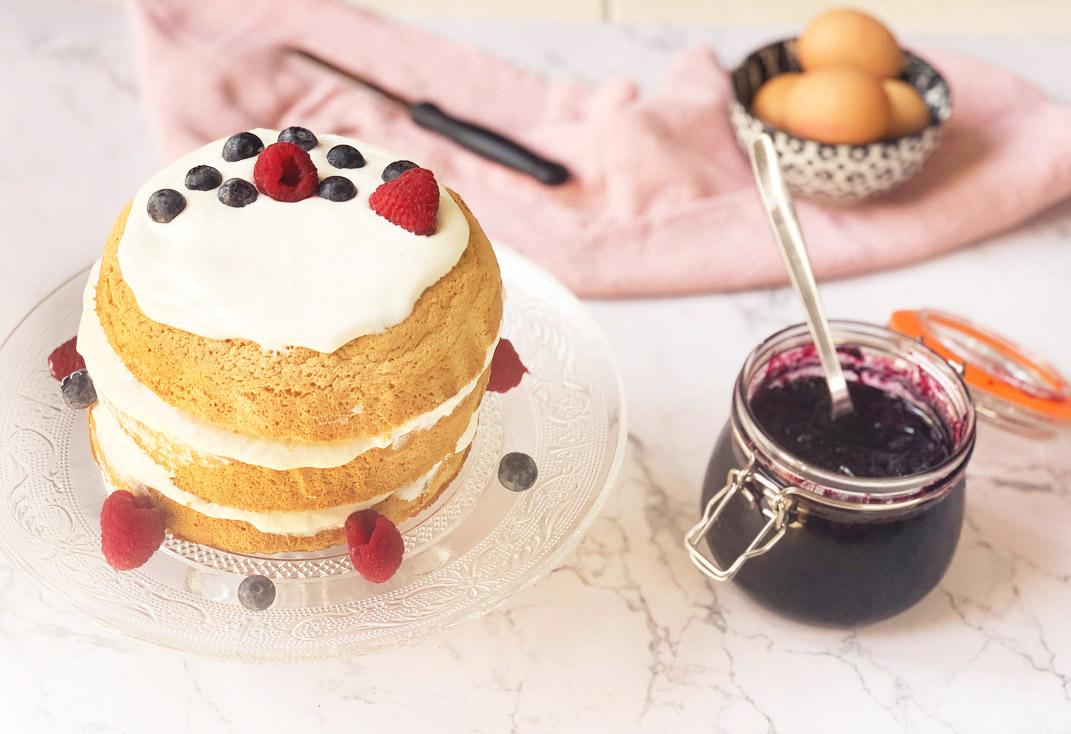 recette Naked cake facile