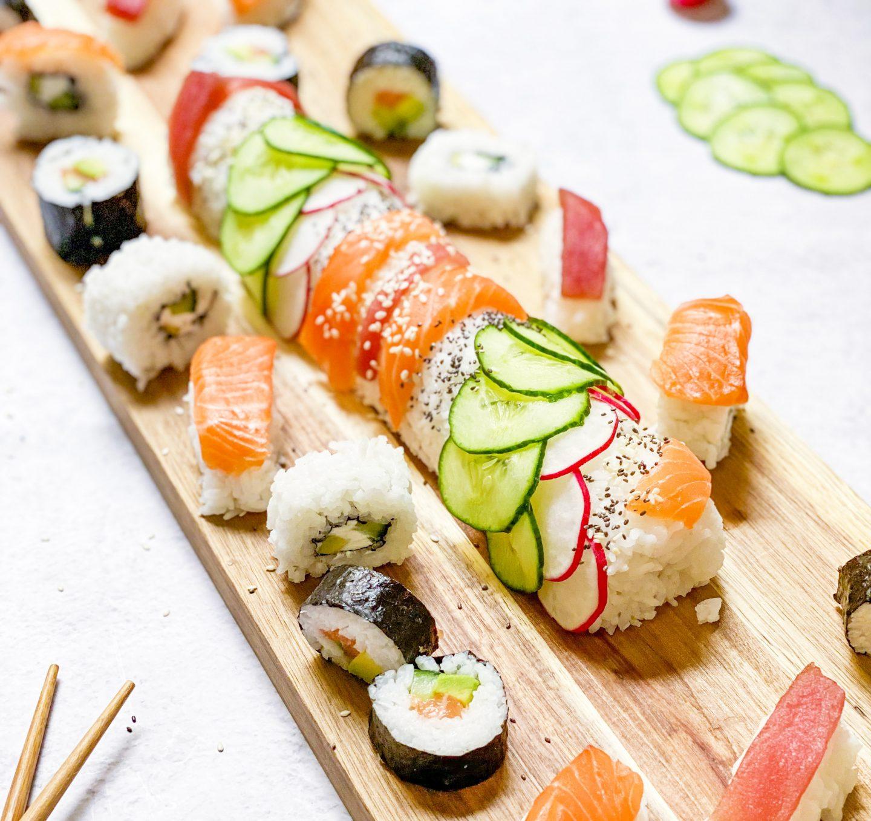 Recette Sushi géant