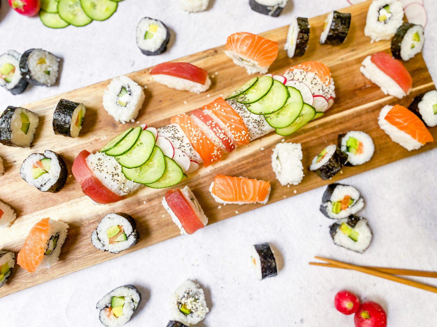 Recette sushi maison